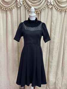 Dot frill dress - Poupee Boutique