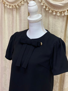 Cape setup one-piece (black) - Poupee Boutique