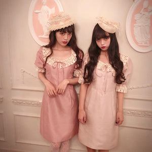 Clara one-piece (pink) - Poupee Boutique