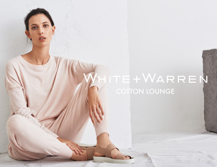 White + Warren Cotton Lounge