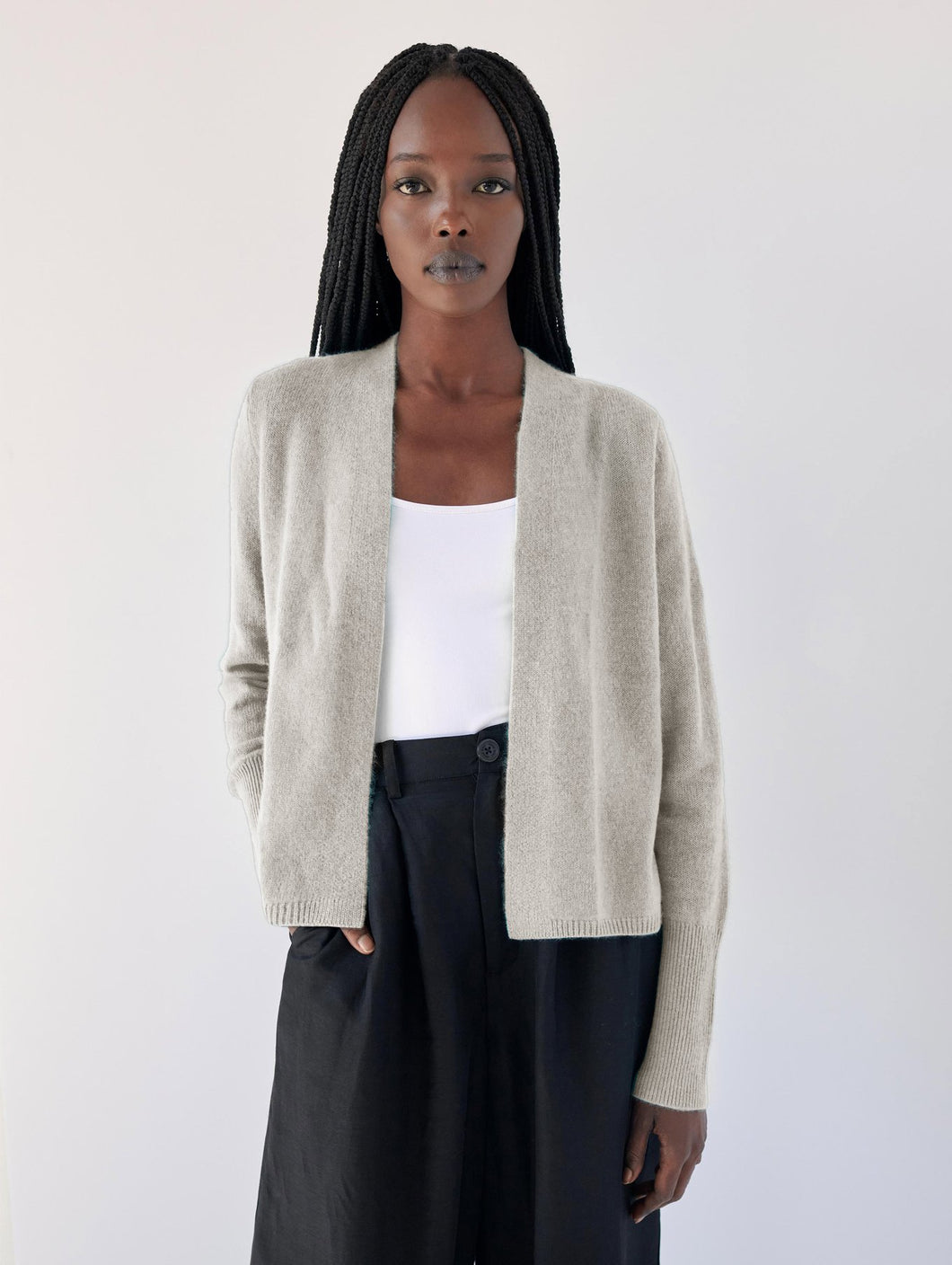 Ruched Back Cardigan