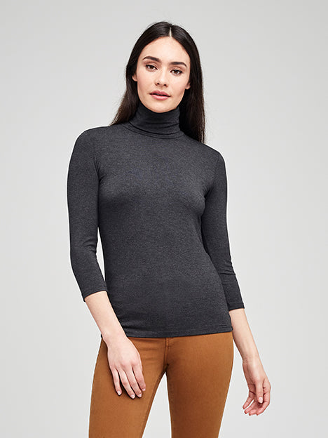 Aja Top Dark Grey Heather