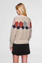 Load image into Gallery viewer, Diamond Intarsia Sweater