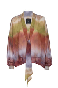 Sunset Chiffon Blouse