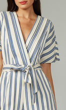 Load image into Gallery viewer, Josie Striped Romper