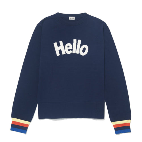 The Hello Sweater Navy