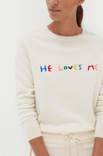 Load image into Gallery viewer, He-Loves-Me Sweater