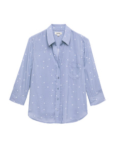 Ryan Blouse Faded Denim