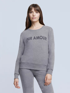 Heidi Sweatshirt Heather Grey