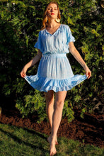 Load image into Gallery viewer, Courtney Dress Sky Blue