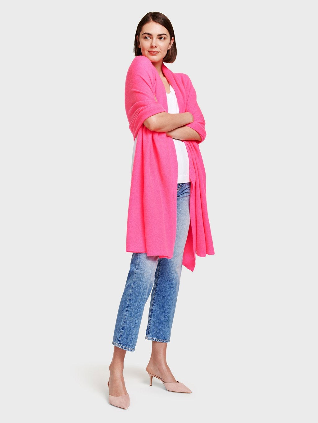 Travel Wrap Neon Pink