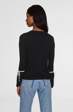 Load image into Gallery viewer, Laced Cuff Crewneck