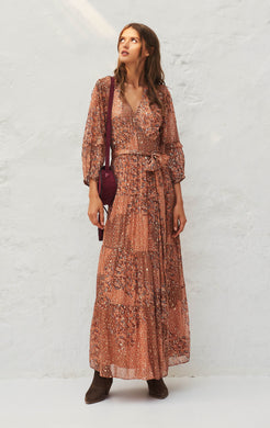 Oriane Maxi Dress Peche