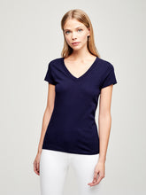 Load image into Gallery viewer, Becca Tee Navy