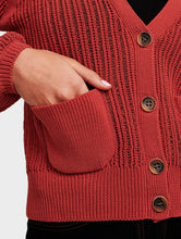 Load image into Gallery viewer, Blouson Sleeve Cardigan