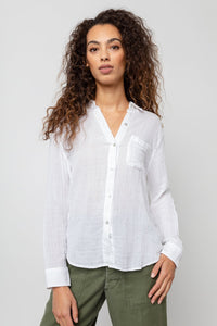 Ellis Shirt White