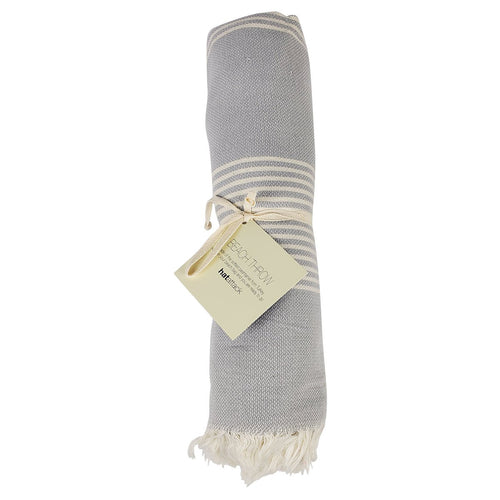 Beach Throw Light Grey