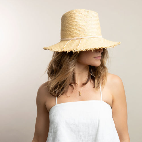 Fringe Packable Travel Hat