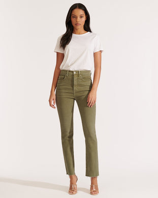 Carly High Rise Kick Flare Jean