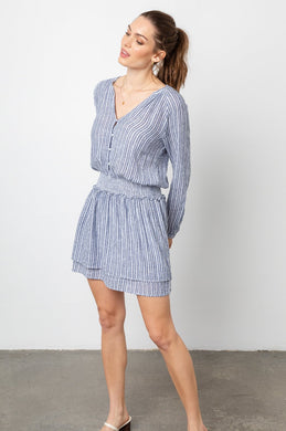 Jasmine Dress Tibet Stripe