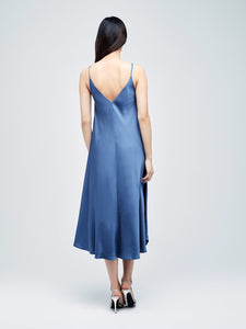 Lorraine Trapeze Dress Sea Mist