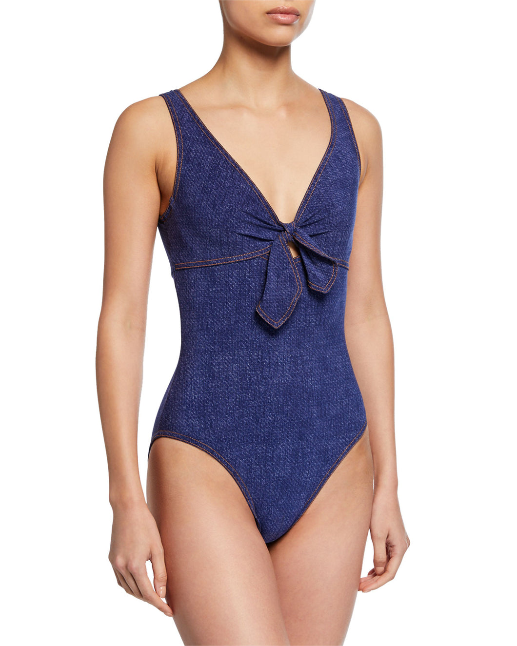 Louise V-Neck Swimsuit