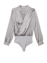 Load image into Gallery viewer, Marcella Bodysuit Pearl Grey
