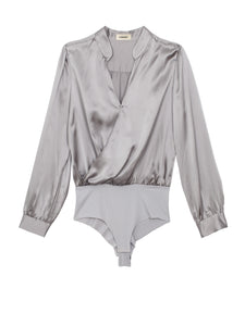 Marcella Bodysuit Pearl Grey