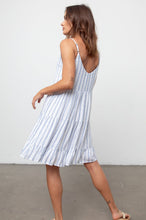 Load image into Gallery viewer, Mattie Dress Marine Stripe