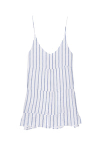 Mattie Dress Marine Stripe