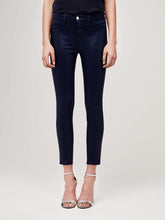 Load image into Gallery viewer, Margot Navy Coated Jean