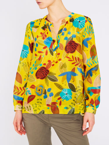 Paisley Blouse Yellow