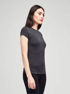 Ressi Tee Dark Heather Grey