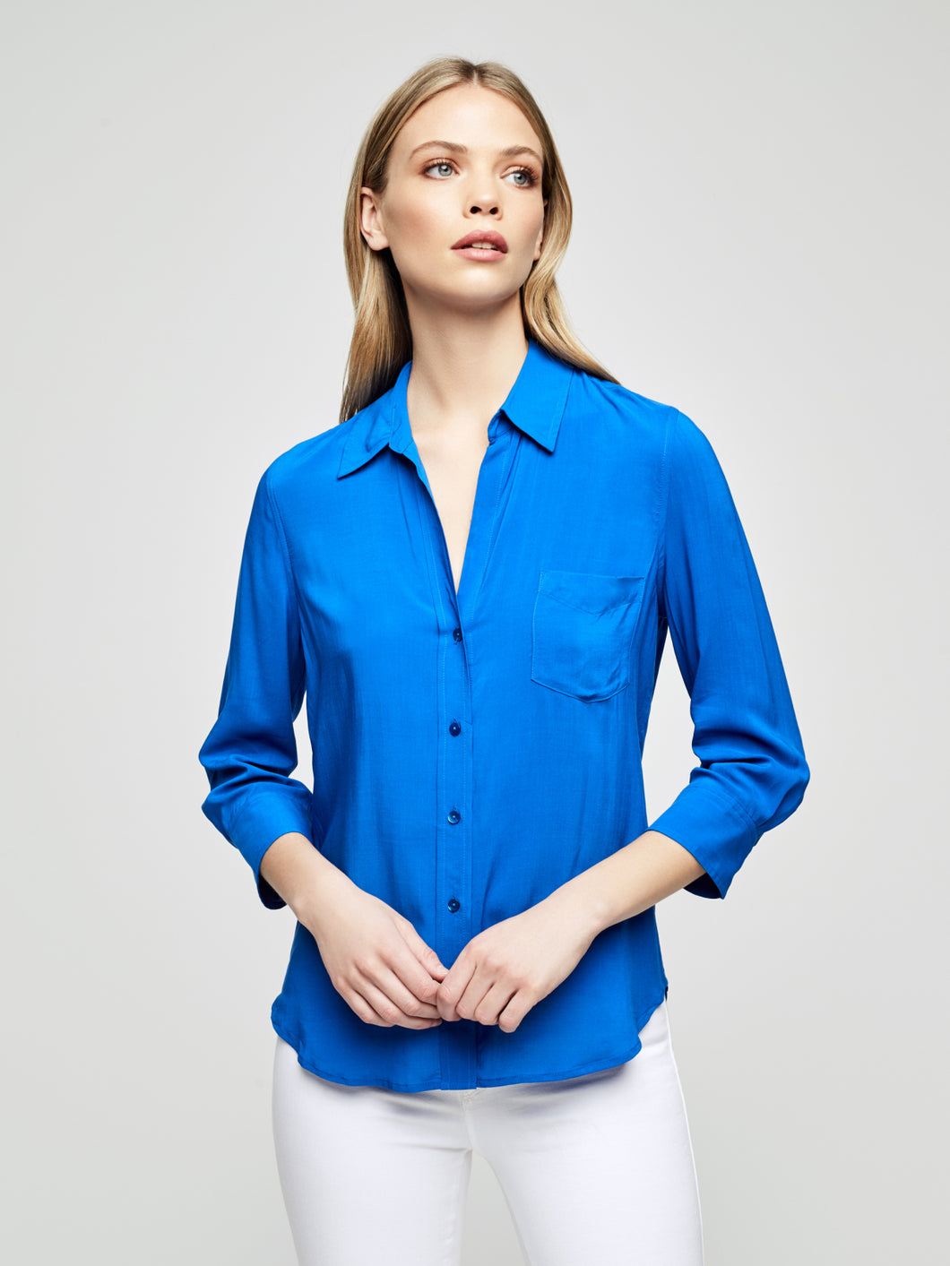 Ryan Blouse Riviera Blue