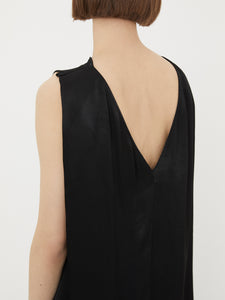 Satin Drape Blouse