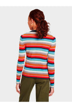Load image into Gallery viewer, Stripe Mockneck