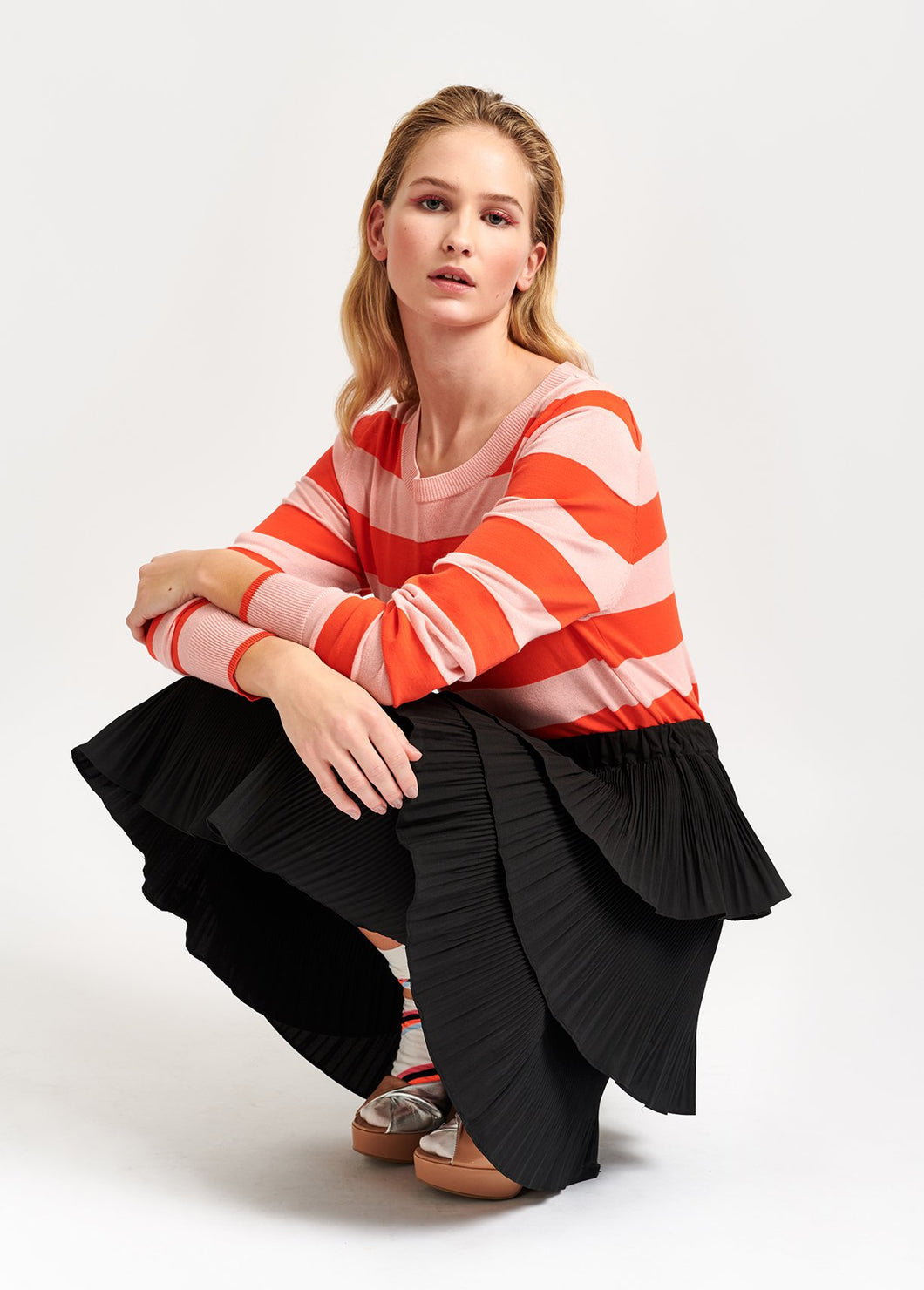 Vaduz Striped Sweater