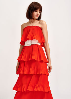 Valentina Ruffle Dress