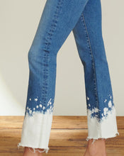 Load image into Gallery viewer, Carly Splatter Kick Flare Jean