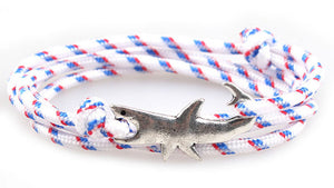 Great White Shark Rope Bracelet