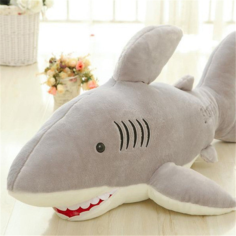 Soft Plush Great White Shark Stuffed Animal
