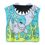 Hooded Pullover Shark Beach/Bath Towel
