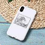 """The Great Wave off Kanagawa"" Soft iPhone Case"