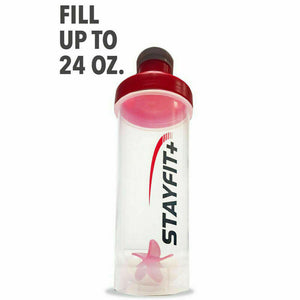 Protein Bottle Shaker 3-Pack (Multi)