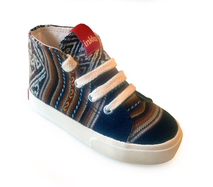 Kids Barracuda - Vegan High Top Sneakers