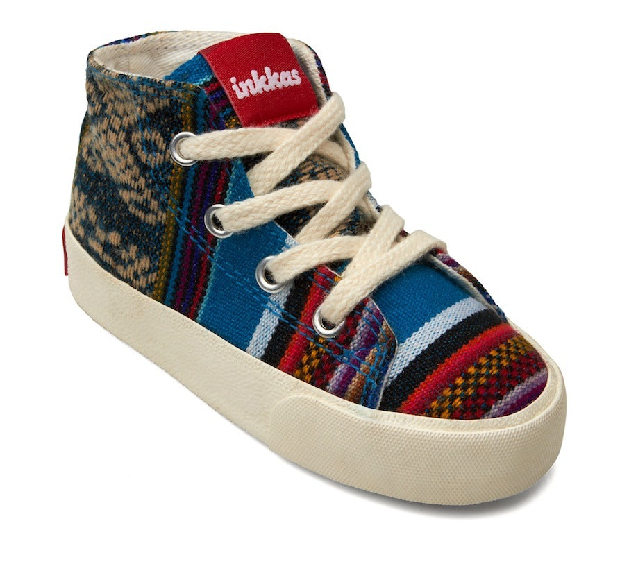 Kids Bluebird - Vegan High Top Sneakers