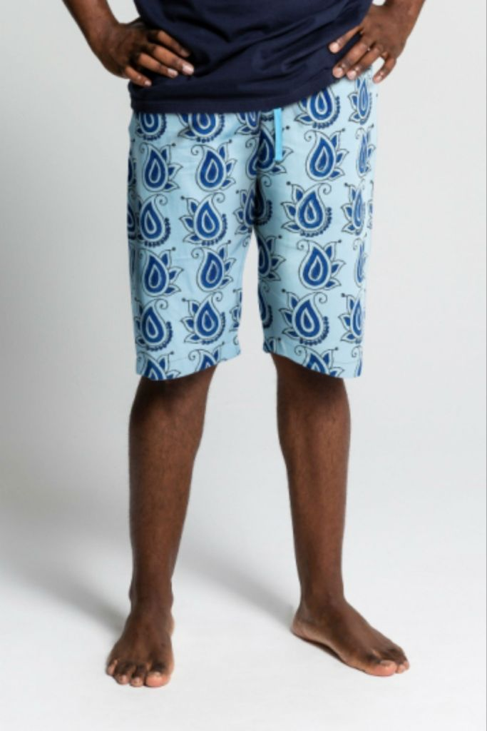 Mens Ethical Organic Cotton Pj Shorts