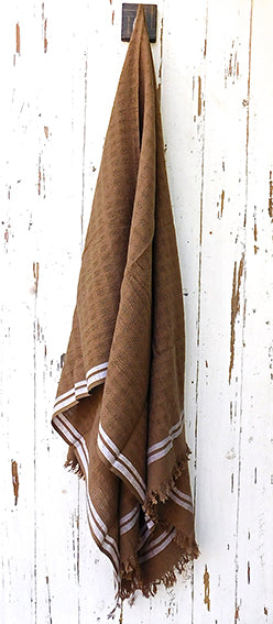 Indian Cotton - Hand Loomed Woven Towel