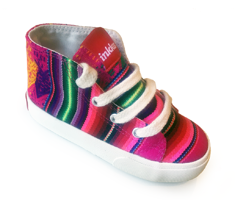 Kids Candy - Vegan High Top Sneakers