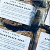 African Black Soap - Handmade in Ghana